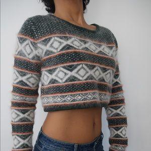 Women Fair Isle Sweater Pattern On Poshmark